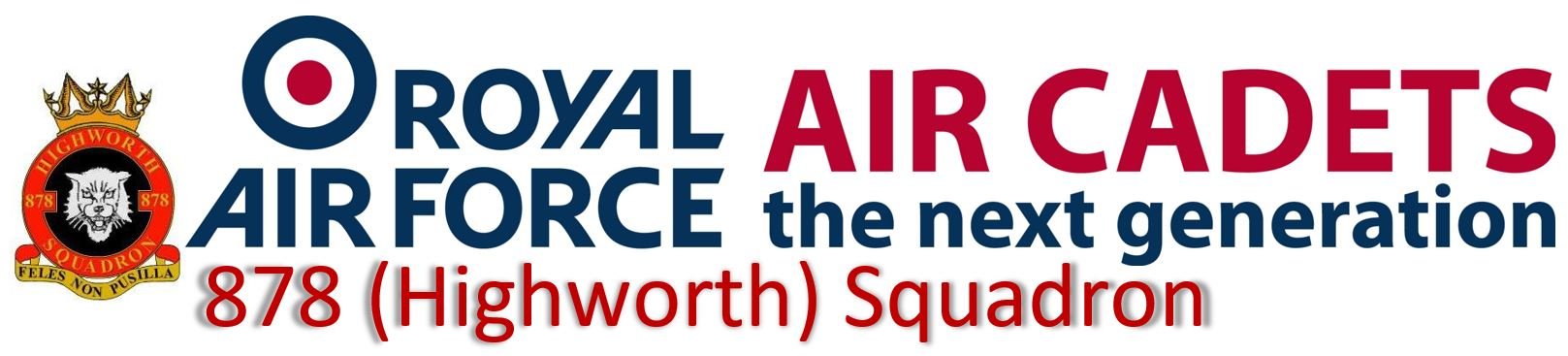 878 (Highworth) Squadron Royal Air Force Air Cadets Logo